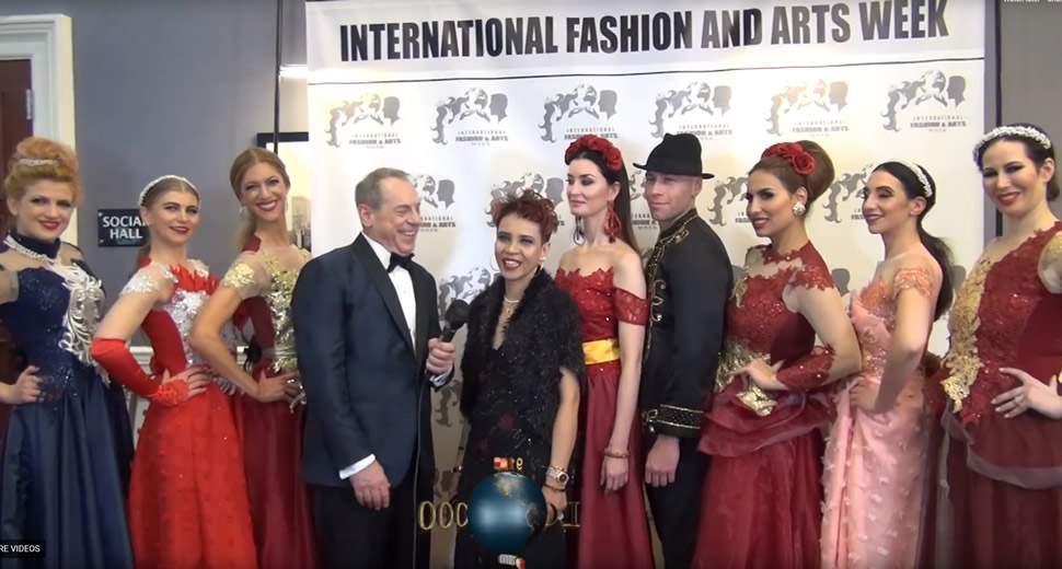 IFAW 2019 RED CARPET INTERVIEW STEVE SILVER & VANNY TOUSIGNANT